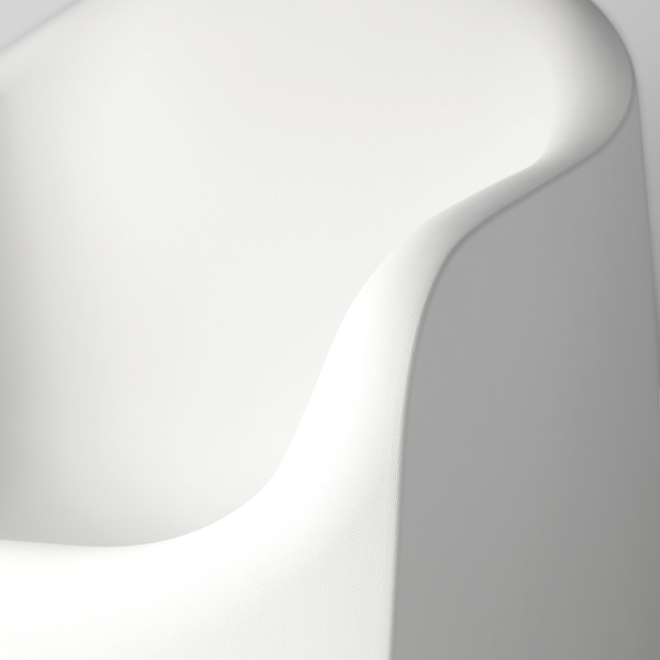 SKARPÖ Fotoliu, exterior, alb