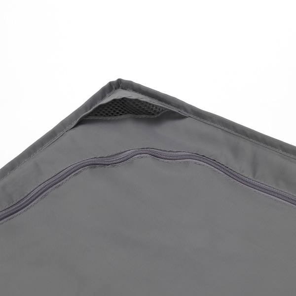 SKUBB Cutie depozitare, gri închis, 93x55x19 cm