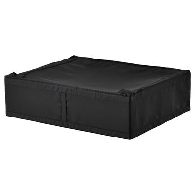 SKUBB cutie depozitare negru 69 cm 55 cm 19 cm