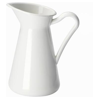 SOCKERÄRT Vază, alb, 16 cm