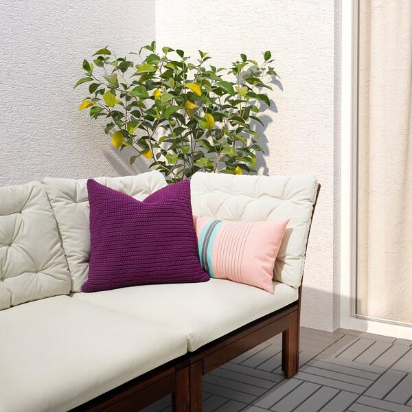 SÖTHOLMEN Husă pernă, interior/exterior, purpuriu, 50x50 cm