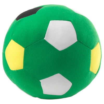 SPARKA Jucărie de pluş, minge de fotbal/verde