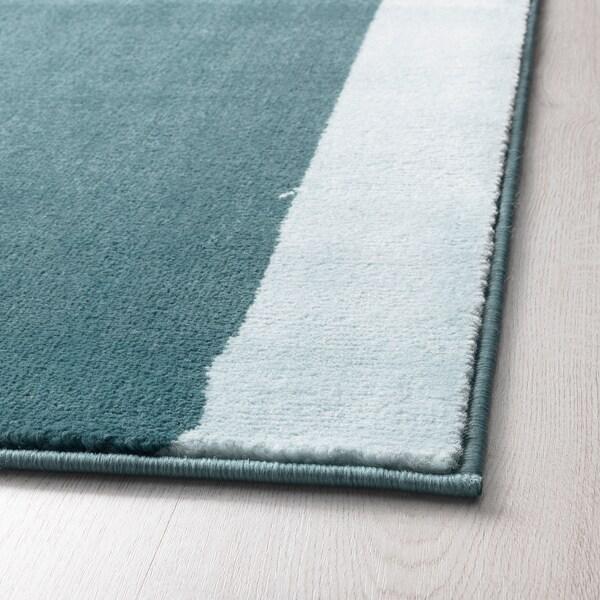 STILLEBÄK covor, fir scurt albastru 195 cm 133 cm 13 mm 2.59 m² 2050 g/m² 700 g/m² 10 mm 10 mm