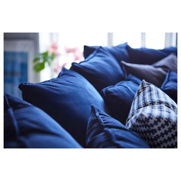 STOCKHOLM 2017 Canapea 3 locuri, Sandbacka albastru inchis