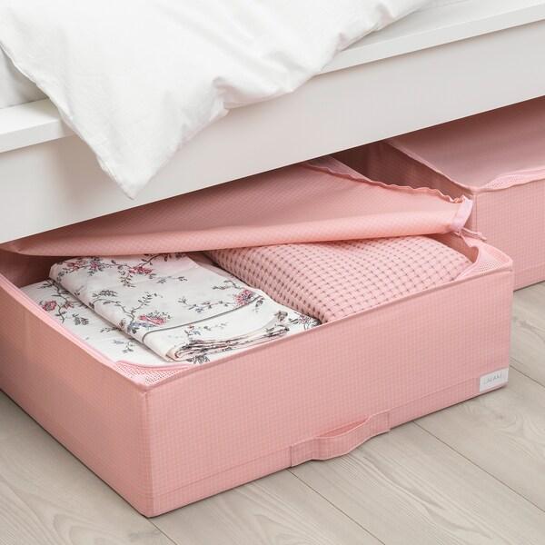 STUK cutie depozitare roz 55 cm 51 cm 18 cm
