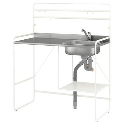 SUNNERSTA Mini-bucătărie, 112x56x139 cm