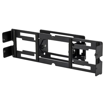 SYMFONISK Consolă perete, reglabil/negru