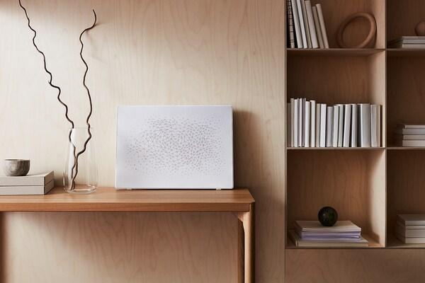 SYMFONISK Ramă tablou cu boxă WiFi, alb
