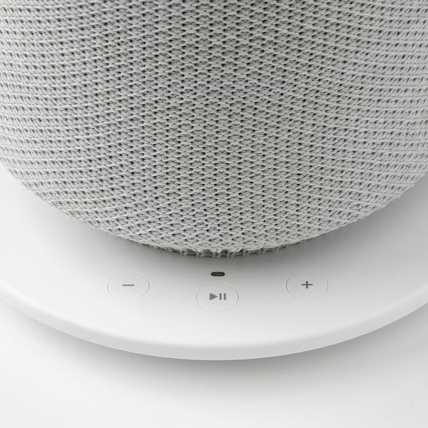 SYMFONISK Veioză cu boxă WiFi, alb