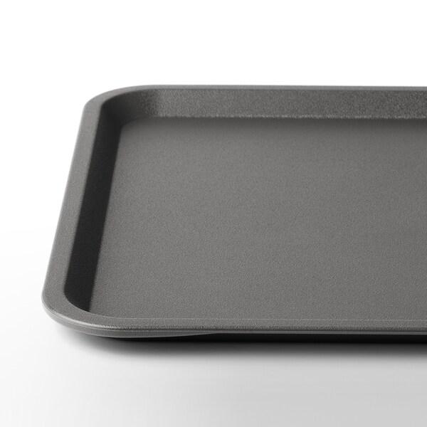 TILLGÅNG Tavă, gri, 37x29 cm