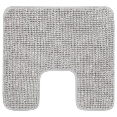 TOFTBO Covoraş baie, gri/alb melanj, 55x60 cm