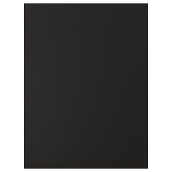 UDDEVALLA Uşă suprafață tablă scris, antracit, 60x80 cm
