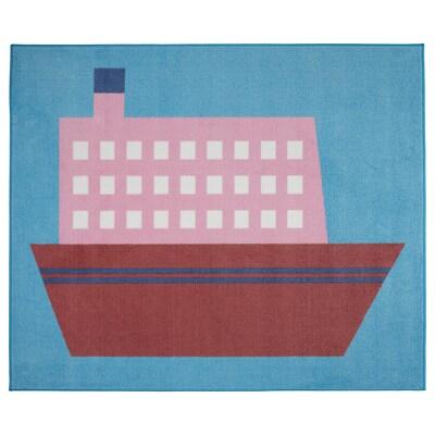 UPPTÅG Covor, bărci, 133x160 cm