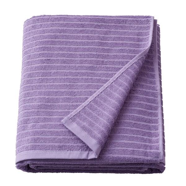 VÅGSJÖN Prosop baie, purpuriu, 100x150 cm
