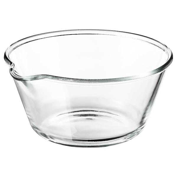 VARDAGEN Bol, sticlă transparentă, 26 cm