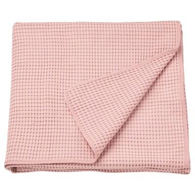 VÅRELD Cuvertură, roz deschis, 150x250 cm