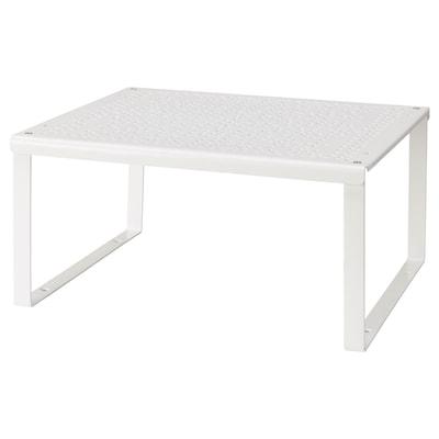 VARIERA Poliţă/organizator, alb, 32x28x16 cm