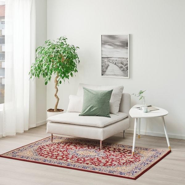 VEDBÄK Covor, fir scurt, multicolor, 133x195 cm