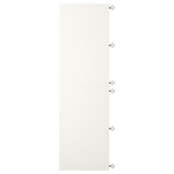 VEDDINGE Uşi cu balamale, alb, 60x200 cm