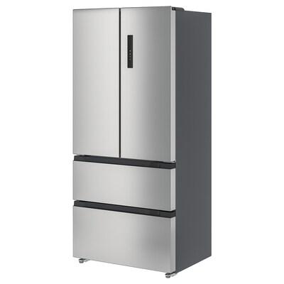 VINTERKALL Frigider/congelator cu uși duble, IKEA 700 independent/inox, 341/171 l