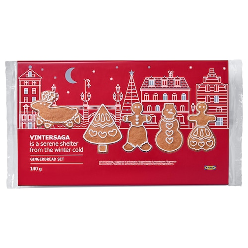IKEA VINTERSAGA Set turtă dulce