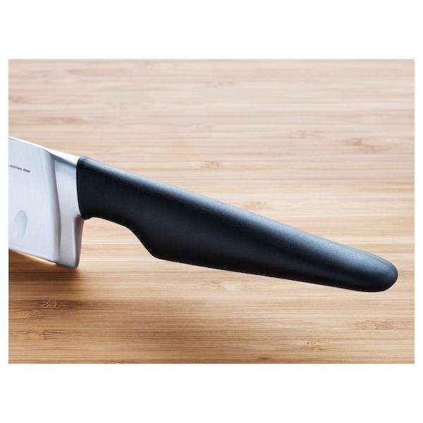 VÖRDA Cuţit legume, negru, 16 cm