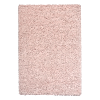 VOLLERSLEV Covor, fir lung, roz pal, 133x195 cm