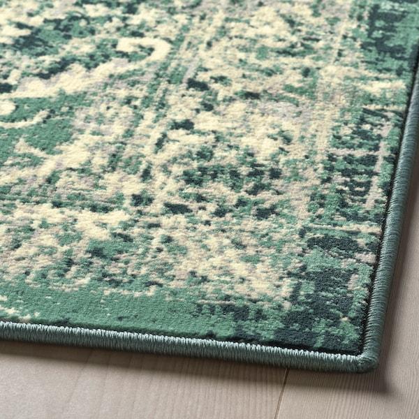 VONSBÄK Covor, fir scurt, verde, 170x230 cm