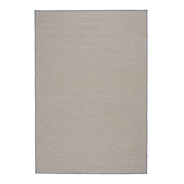 VRENSTED Covor ţesătură plată, int/ext, bej/bleu, 133x195 cm