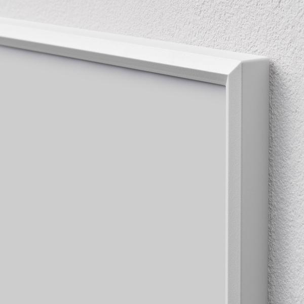 YLLEVAD Ramă, alb, 13x18 cm