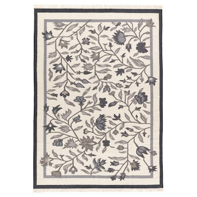 ALVINE Tepih, ravno tkani, ručni rad siva, 170x240 cm