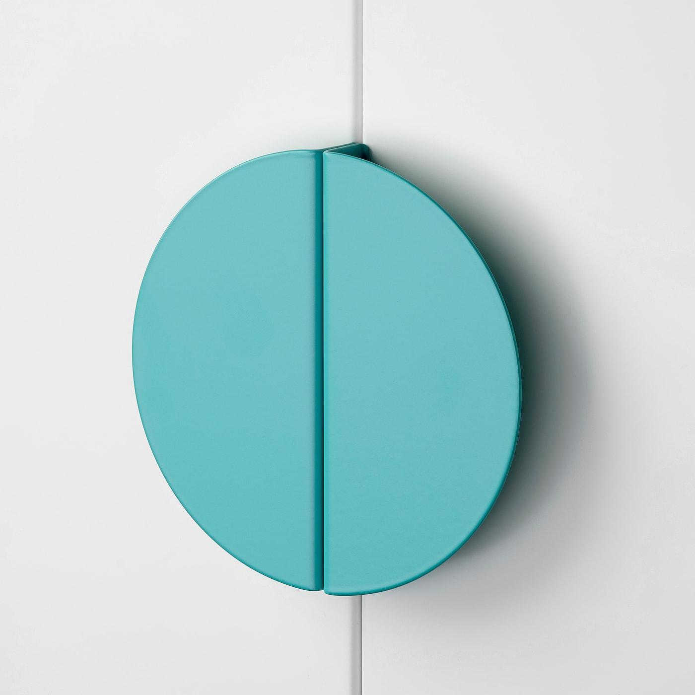 BEGRIPA Ručka, tirkizna/polukružno, 130 mm