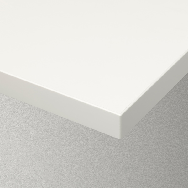 BERGSHULT Polica, bela, 120x20 cm