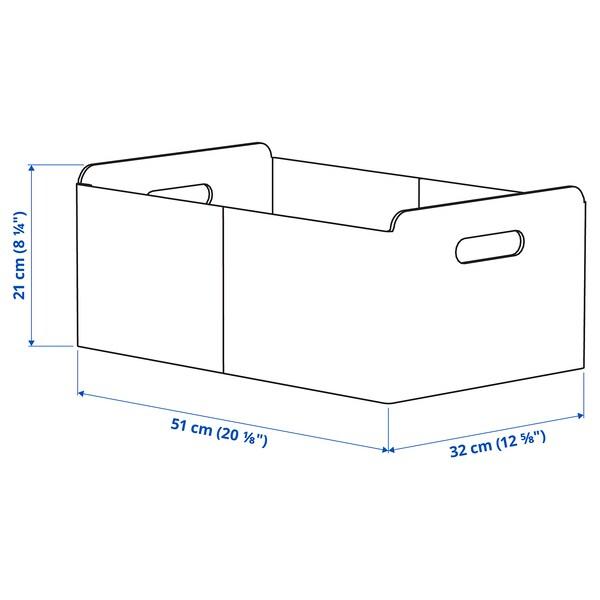 BESTÅ Kutija, siva, 32x51x21 cm