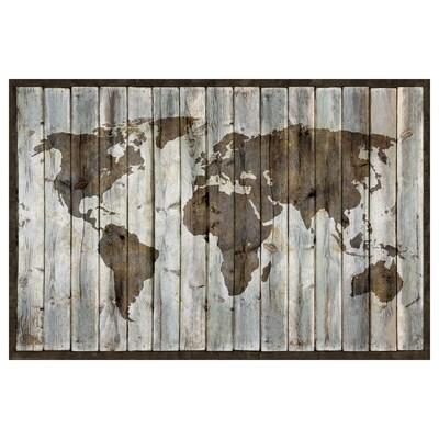 BILD Poster, Geografska karta, 91x61 cm