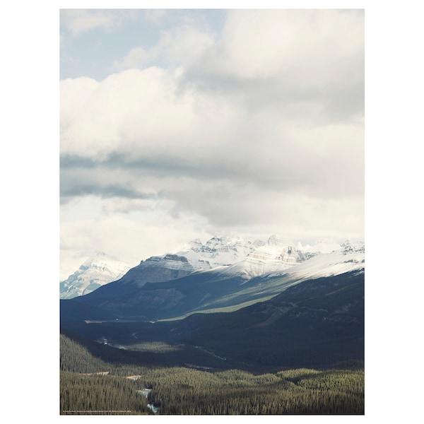 BILD Poster, Zimski vrhovi, 30x40 cm