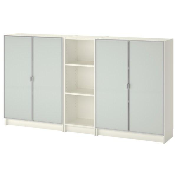 BILLY / MORLIDEN Biblioteka, bela, 200x30x106 cm