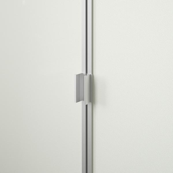 BILLY / MORLIDEN Biblioteka, brezov furnir, 200x30x106 cm