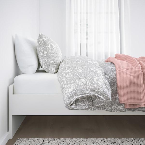 BRIMNES Okvir kreveta, bela/Lönset, 160x200 cm