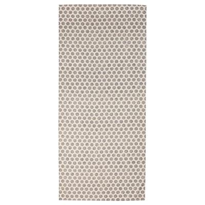 DEKORERA Stolnjak, tačkasto natur/siva, 145x240 cm