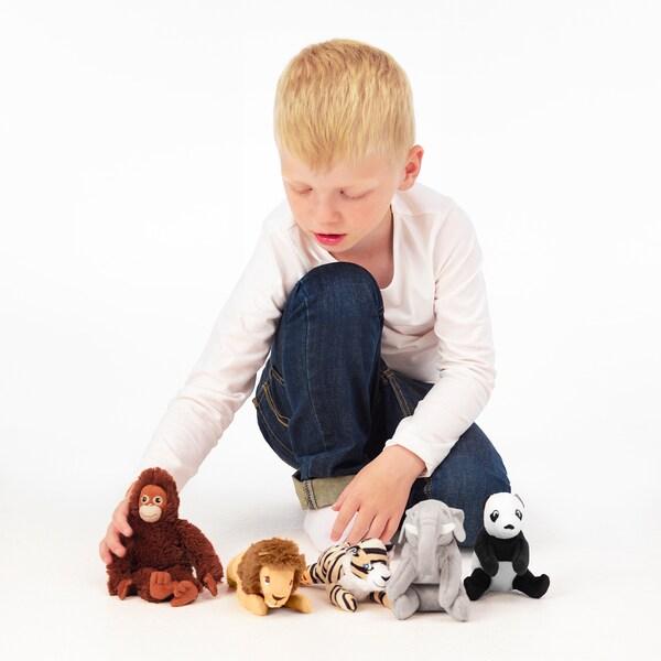 DJUNGELSKOG Plišana igračka, razni modeli