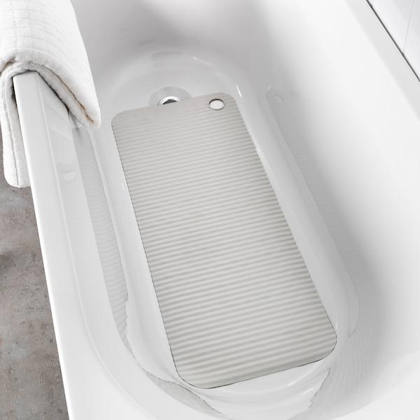 DOPPA Podmetač za kadu, svetlosiva, 33x84 cm