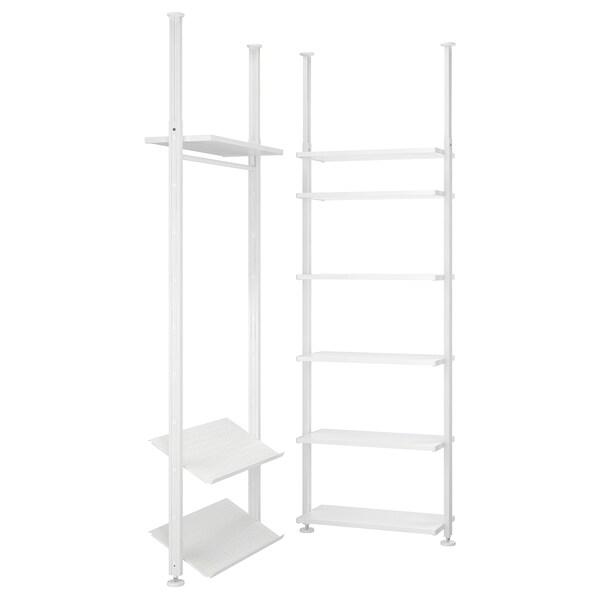 ELVARLI 2 odeljka, bela, 92/92x222-350 cm