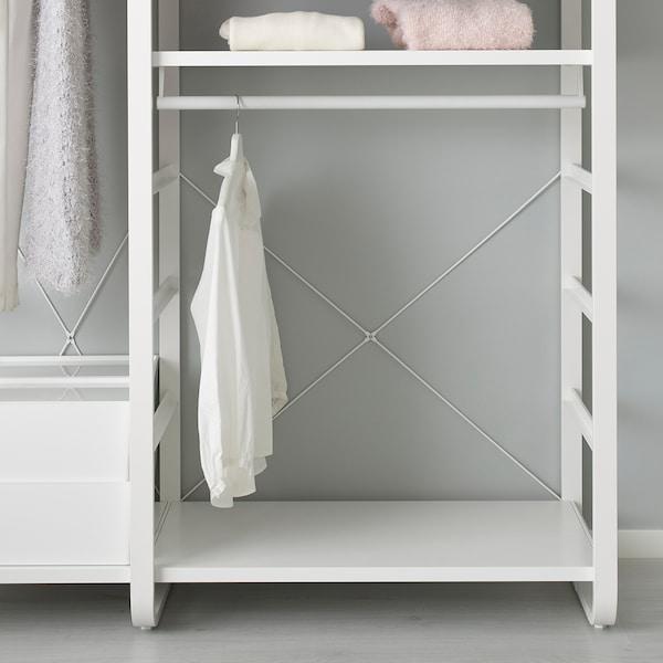 ELVARLI 2 odeljka, bela, 125x55x216 cm