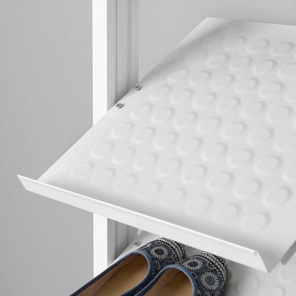 ELVARLI Polica za cipele, bela, 40x36 cm