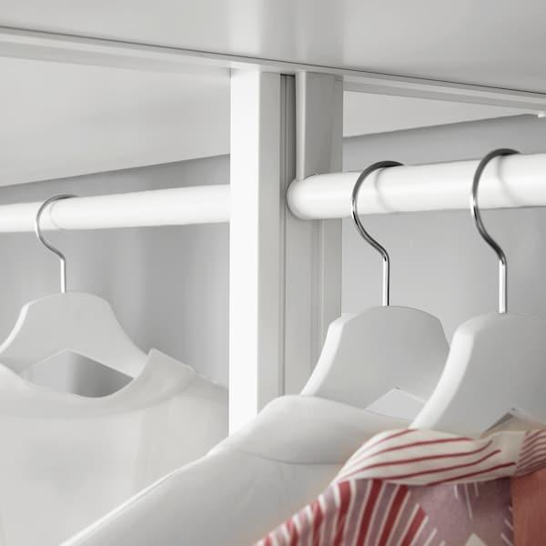 ELVARLI Šipka za vešalice, bela, 80 cm