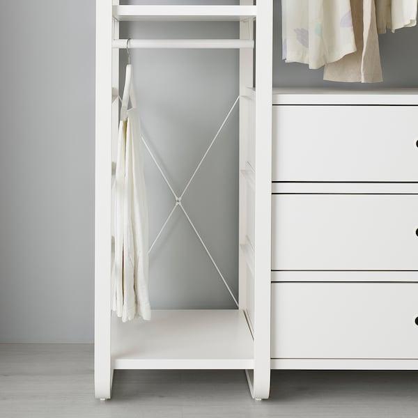 ELVARLI Ukrštena potpora, bela, 40 cm