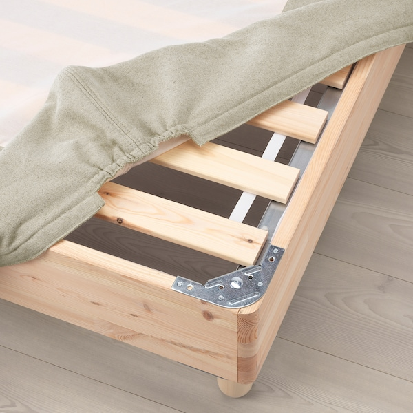 ESPEVÄR Let.osn.kreveta s nogarima, natur, 90x200 cm