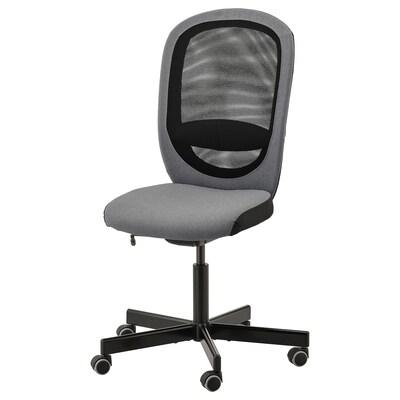 FLINTAN Kancelarijska stolica, Vissle siva
