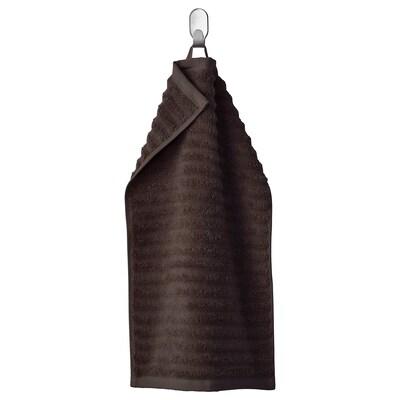 FLODALEN Peškir za goste, tamnosmeđa, 30x50 cm